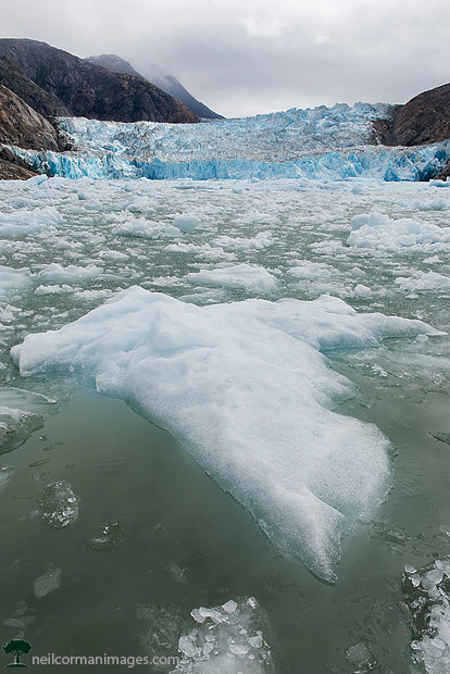 South Sawyer Glacier with Ice