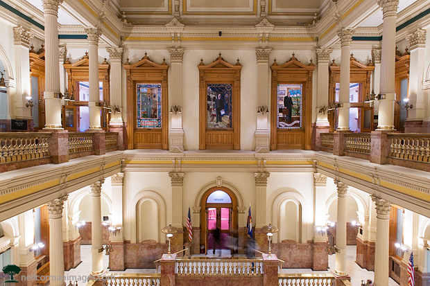 Inside the Colorado State Capitol