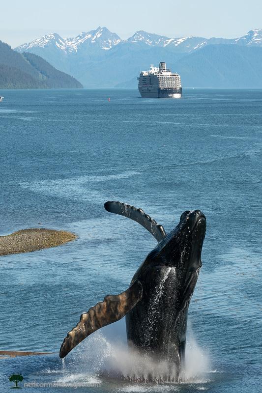 Ship Departing Juneau