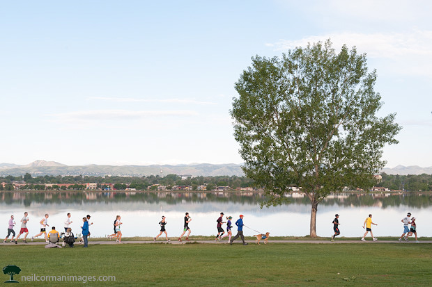 Colfax Marathon at Sloans Lake