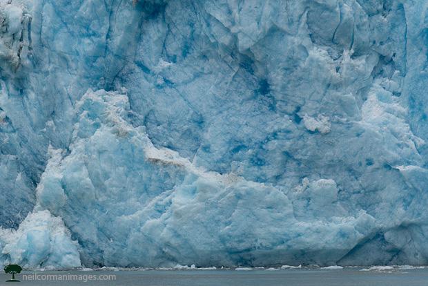 South Sawyer Glacier in Alaska