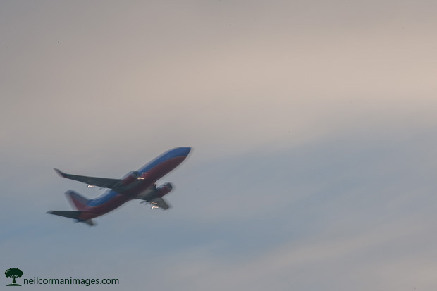 Southwest Airlines Departing Oakland