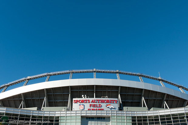 Sports Authority Field in Denver