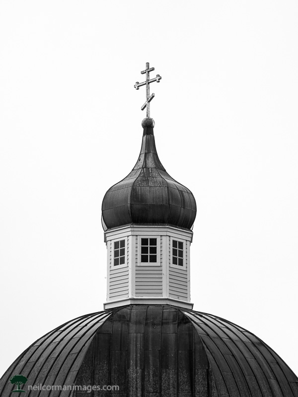 St Michaels Cathedral in Sitka Alaska