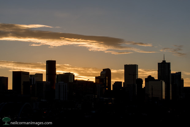 Sunrise in Denver - November 2016