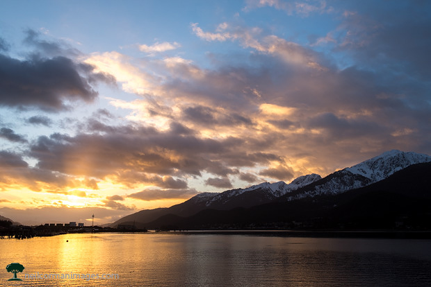 Sunrise in Juneau