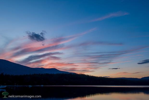 Sunset at Glacier National Park - Montana