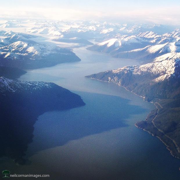 Taku Inlet - near Juneau Alaska