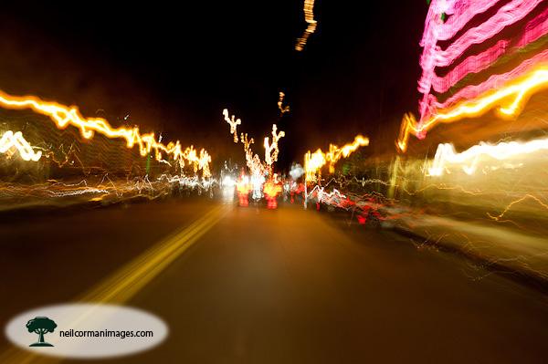 Tennyson Street at Night