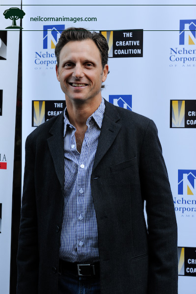Tony Goldwyn in Denver, Colorado during the DNC