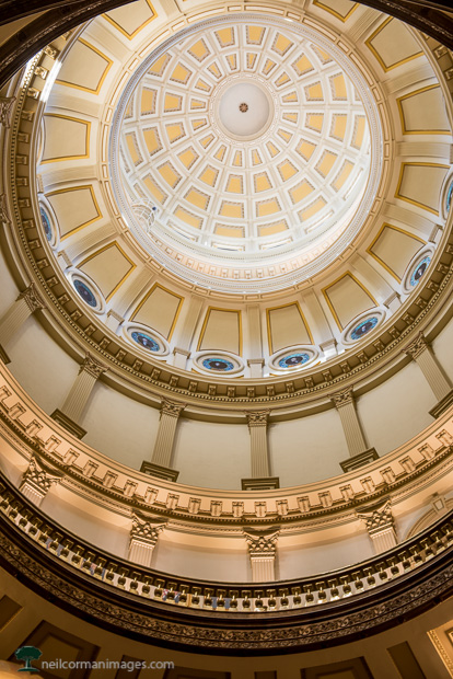 Under the Colorado State Capitol Dome