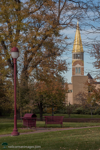 University of Denver in the Fall