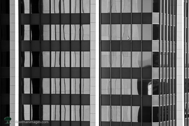 Vertical Lines on a Denver Building