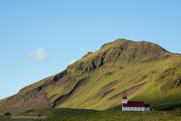 Church in Vik, Iceland
