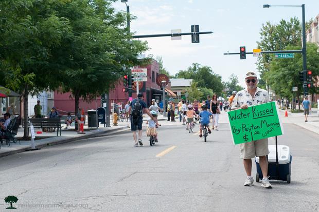 Viva Streets water sales